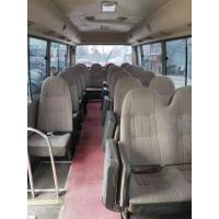 Quality japan brand toyota coaster 30 seats diesel fuel second hand medium-sized bus 4x2 coaster on sale for sale