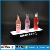 Buy Acrylic Led Lighted liquor Shelf Bottle Display at wholesale prices