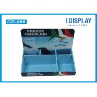 China 2 Tier Cardboard Counter Display , Retail Counter Display Rack  For LED Lights on sale