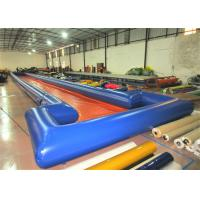 Quality Long inflatable runway water slide big inflatable water slide on sale for sale