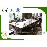 Buy 7 Seats Induction Heating Electric Teppanyaki Table Grill Stainless Steel and Alloy Steel at wholesale prices