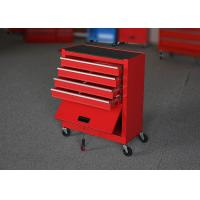 China 24 Spcc Industrial Roller Cabinet Toolbox On Wheels Store Tools Color Customized on sale