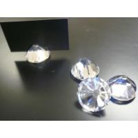 China Fashion crystal place card holder on sale