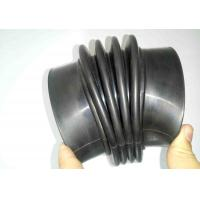 Buy cheap Corrugated Flexible Rubber Bellows Custom Molded Heat Aging Resistance from wholesalers