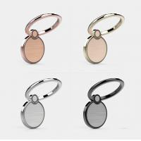 Quality Exquisite 360 Degree Rotating Cellphone Round Ring Holder with Magnetic Catch Piece Inside and Gorgeous Laser Etching P for sale