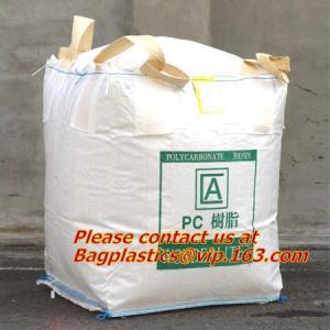 Quality 100% PP Woven FIBC Jumbo Bags for Sand, fibc bulk bag with four loop bags, big jumbo bag, Cheap china fibc big bags for sale