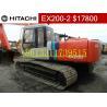 Buy cheap Used Hitachi EX200-2 Excavator/Hitachi EX200-2 from wholesalers