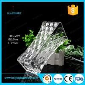 Best Clear Square Glass Flower Vase, Crystal Vase Decorations wholesale