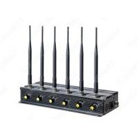 China 6 bands cell phone GSM 3G 4G GPS/WIFI jammer vehicle jamming on sale
