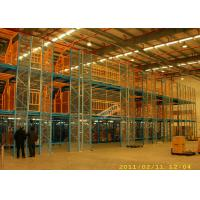 Cheap 200 Kg Per Sqm Multi Tier Racking System Mezzanine Storage Platform For Furniture Company for sale