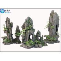 Best Artificial Hill Decorative Aquarium Resin Ornaments For Indoor Fish Tank Decorations wholesale