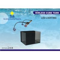 China CE Certified 6W DC 14V 36L Fish Tank Aquariums With Background Filter And LED Clamp Lamp on sale