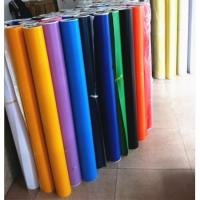 China Glossy PVC Color Cutting Vinyl 80micron Film Thickness For Advertising on sale