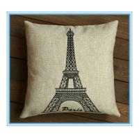 Best advertised printing cheap cushion pillow covers wholesale