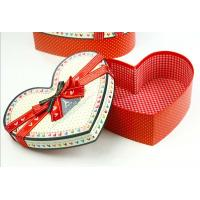 Buy cheap Heart-shaped Cardboard Gift Boxes from wholesalers