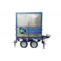 Quality Outdoor  4 Car Wheels Type Mobile Transformer Oil Purifier Machine for sale