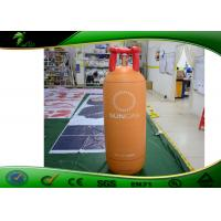 China Giant Liquefied Gas Tank Shaped Helium Advertising Balloons With Air Blower on sale