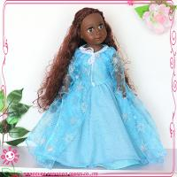 China African doll Black doll Kids 18 inch baby doll dress on sale