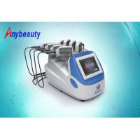 Quality 3 Size Portable Lipo Laser Slimming Machine for cellulite removal 100 - 240V AC for sale