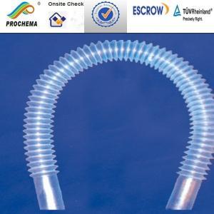 Quality PFA Sylphon bellowsPFA wave tube PFA convoluted tube for sale