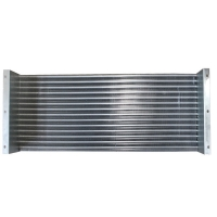 Quality 1/5HP Galvanized Plate Aluminum Fin Type Heat Exchanger for Drying Equipments for sale