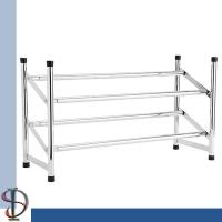 China Expandable shoe rack / Chroming metal shoe stand / Shoes Display Rack / Home storage display rack for shoes on sale
