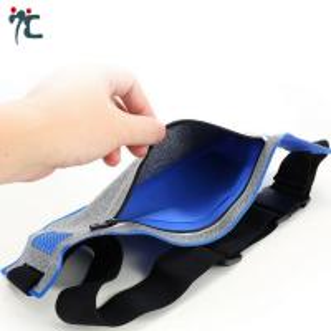 Quality custom neoprene men cycling fishing running sport mobile small elastic waterproof waist belt bag for sale