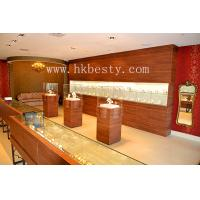 China wooden jewelry display counter and tower on sale