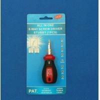 Quality 8 Way Stubby Screwdriver for sale