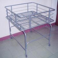 Quality Steel Wire Bin with Four Casters and Powder Coating Surface Finish, Measues 900x900x950mm for sale