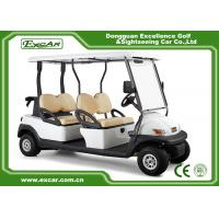 Quality Golf Course 2nd Hand Golf Carts 48V 3.7KW 4 Seater 1 Year Warranty for sale