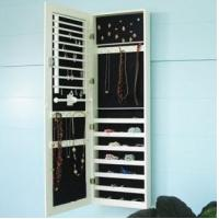 Quality 2013 hot !wall-mounted mirror cabinet,jewelry cabinet with mirror for sale