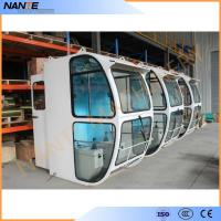 China Driver Operator Cold Rolled Steel Overhead Crane Cabin With Head Lamp on sale