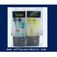 Buy cheap Soft PVC Rubber Earphone Phone Decoration Accessories Silicone Cable Winder from wholesalers
