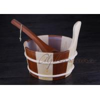Best Popular sauna buckets And Ladle , portable home sauna set Durable wholesale