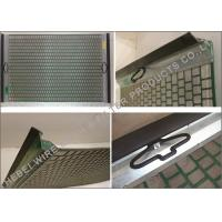 Quality Oilfield Mud Cleaner Shale Shaker Screen Flat / Pinnacle Structure 20 - 325 Mesh for sale