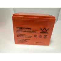 Quality Black Agm Or Gel Deep Cycle Inverter Batteries For Banks & Financial Centre for sale