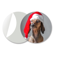 Quality 3D Moving Dior Sticker For Box 3D Lenticular Stickers Custom PET Printing Durable for sale