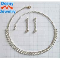 Best American Standard Fashion Celtic Jewelry Necklace and Earring Set for Engagement OEM wholesale