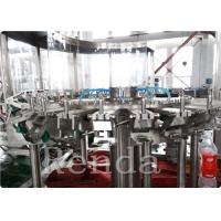Quality Automated Commercial Carbonated Drink Filling Machine 2000 BPH 380V 2000KG for sale