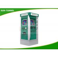 Quality Bus Station Cash Acceptor Payment Ticket Vending Machine With Touch Screen for sale