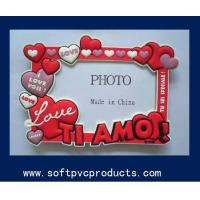 Quality Elegant Different Shaped PVC Photo Frame Home Decoration Soft PVC Picture Frame for sale