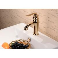 Best Bathroom accessories chrome plated brass single handle bathroom faucet wholesale