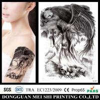 Best Large Gold Foil Temporary Arm Tattoo Stickers Water Transfer Paper Waterproof wholesale