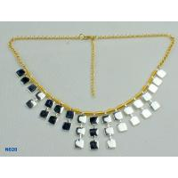 Best 2012 Fashion Women's Tin Alloy Electroplated Jewelry Mixed Metal Necklace for Gift OEM wholesale