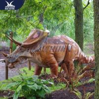Quality Outside Mechanical Realistic Life Size Dinosaur Models For Exhibit for sale