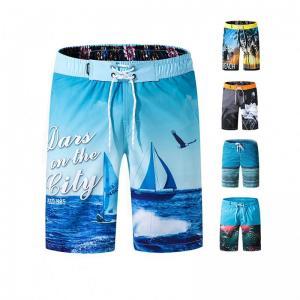 China Fashion Quick Dry Breathable Custom Logo Mens Summer Board Shorts Surf on sale