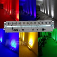 Quality 12pcs battery&wireless dmx wall washer for sale
