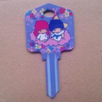 Quality Big Head Printed Decorative House Key Blanks Ul050 Kw10 Kw1 Type Innovative Gifts for sale
