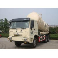 China 16CBM Collecting Sewage Sludge Vacuum Pump Septic Tank Cleaning Truck LHD 6X4 on sale